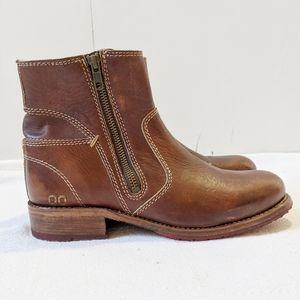 Bed Stu Eiffel Ankle Boots In Teak Driftwood